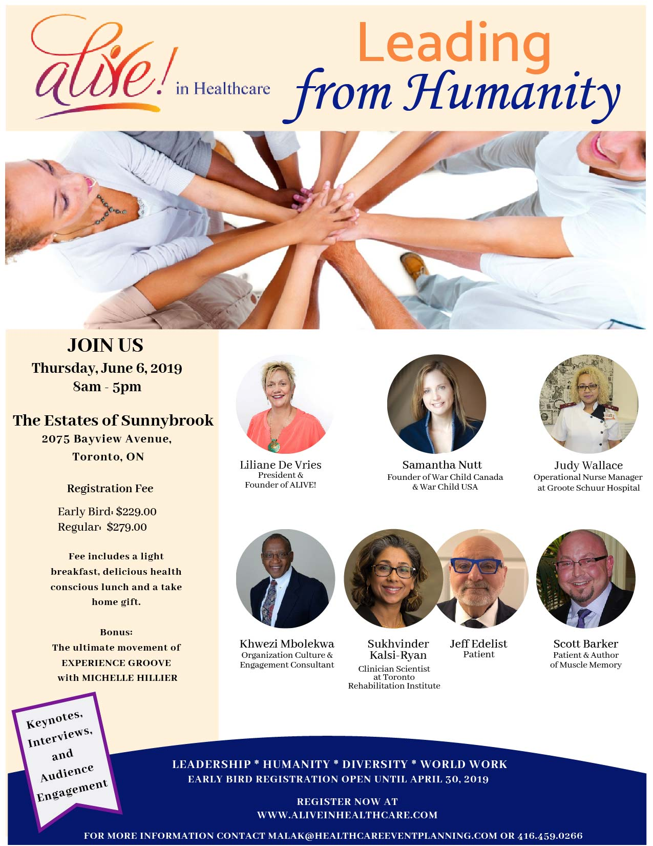alive in healthcare-leading from humanity