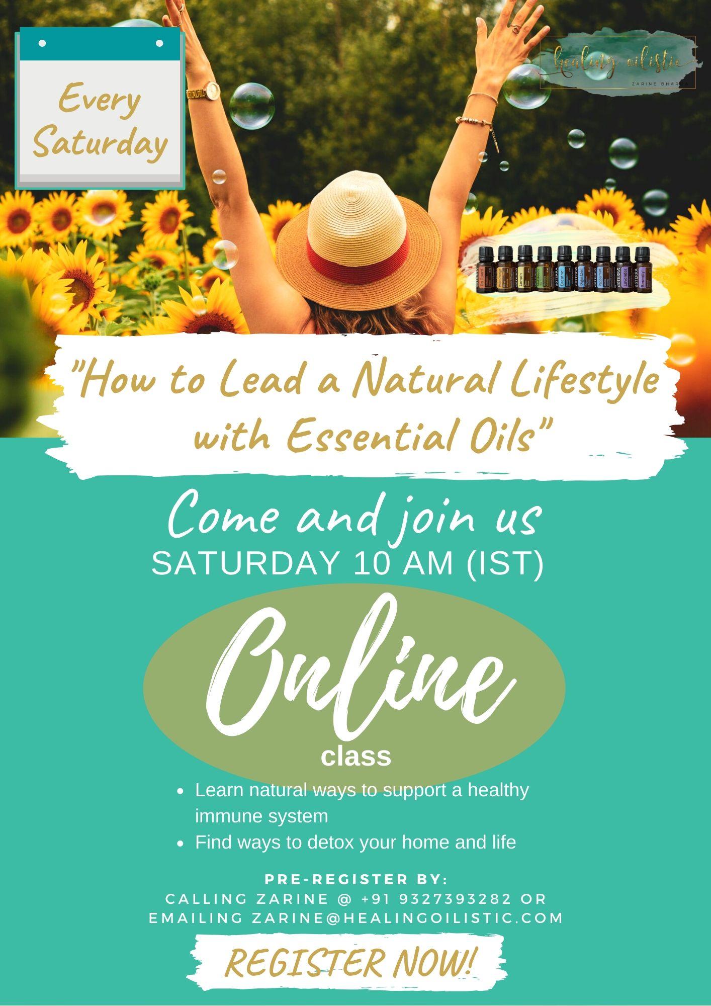 Saturday Online Class