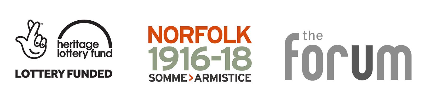 Norfolk 1916-18 logos