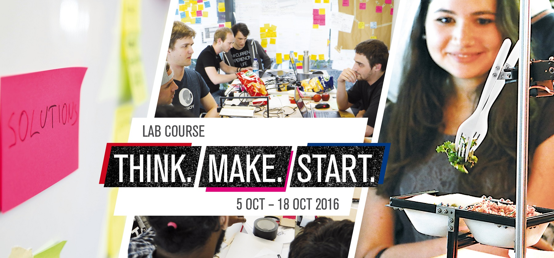 THINK.MAKE.START 2016/2 - Header