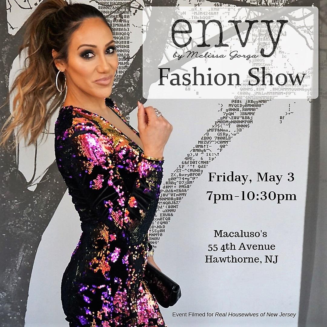 Envy by Melissa Gorga Fashion Invite