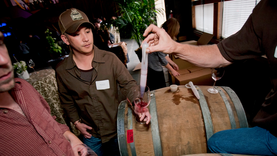 SF Winery Cruise - Barrel Sampling