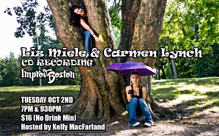 Liz Miele and Carmen Lynch