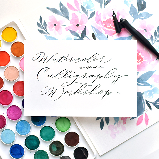 Watercolor-calligraphy-retreat