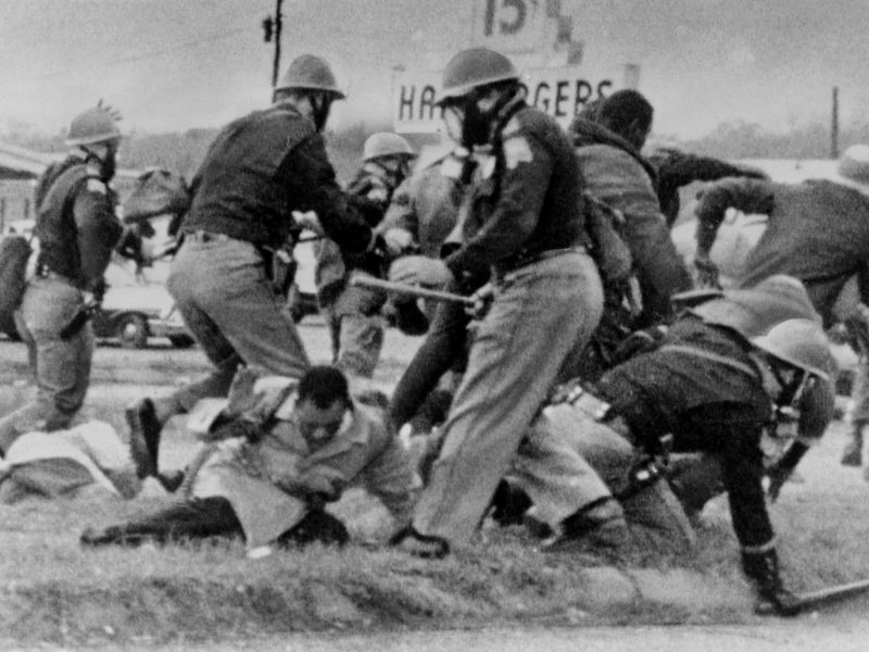 Bloody Sunday, African Americans Seeking To Vote
