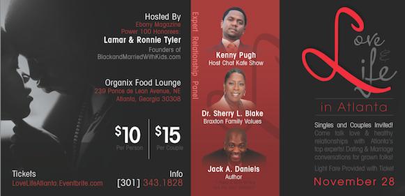 Flyer Love Life Atlanta