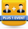 plus 1 event