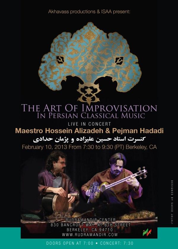 Alizadeh & Pejman 2013 Feb Concert