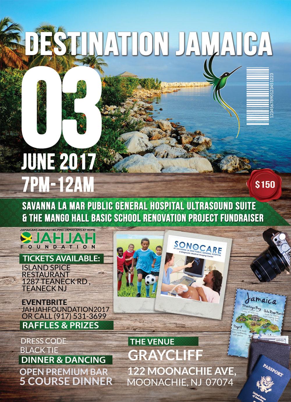 Destination Jamaica Fundraiser