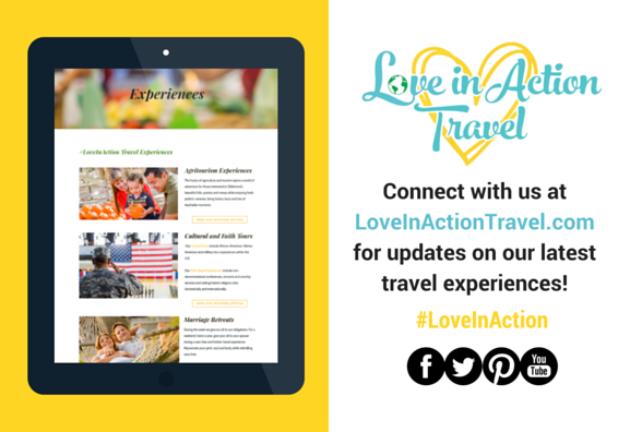 Love in Action Travel graphic