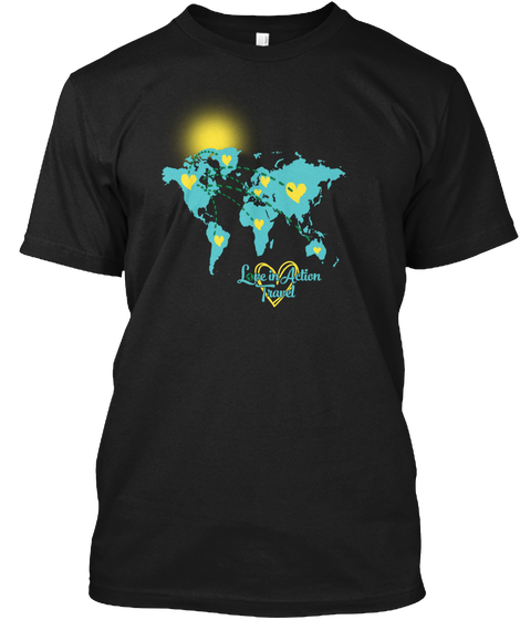 Love in Action Travel tshirt
