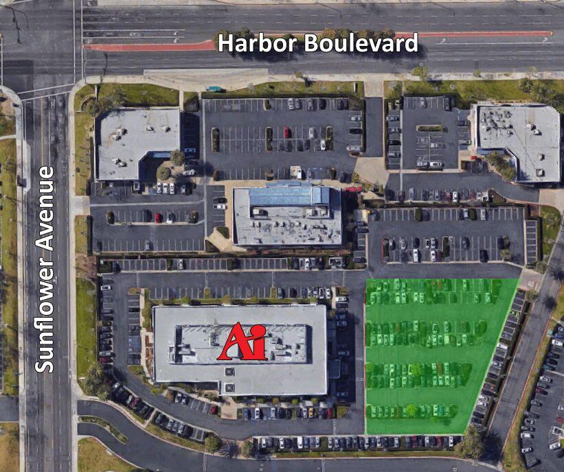 AIOC Parking Map