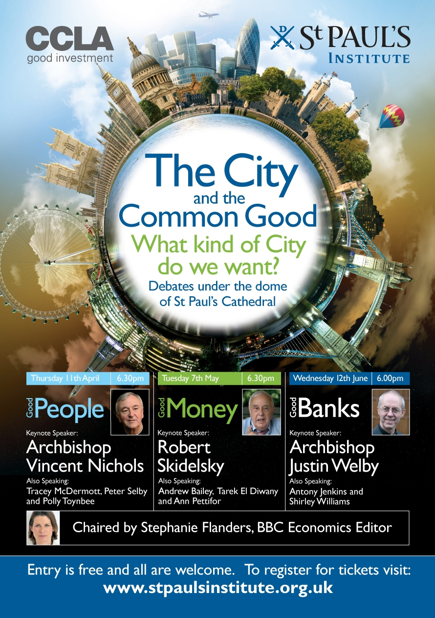 City and the Common Good series poster