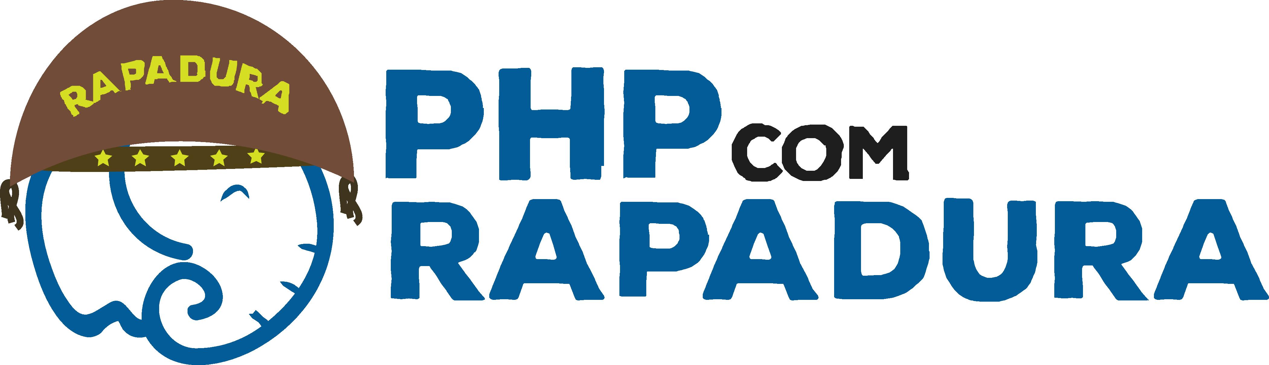 Logo da Comunidade PHP com Rapadura