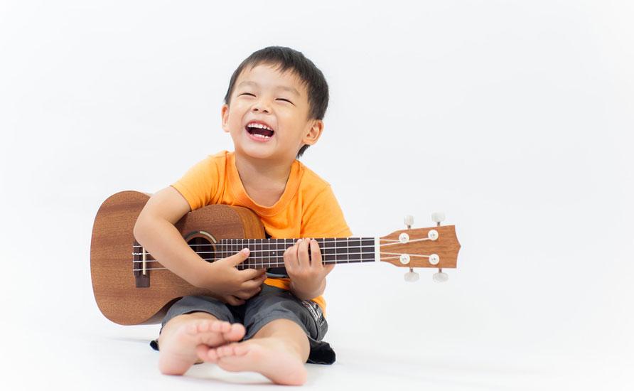 ukulele child
