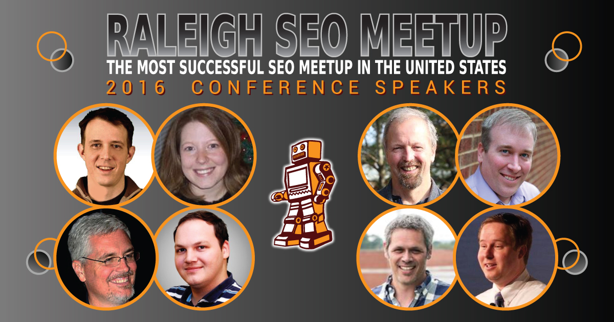 Raleigh SEO Meetup Conference Speakers