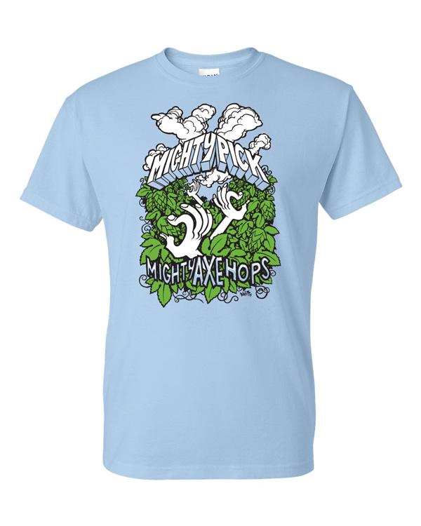 Mighty Pick 2015 T-shirt by DWitt