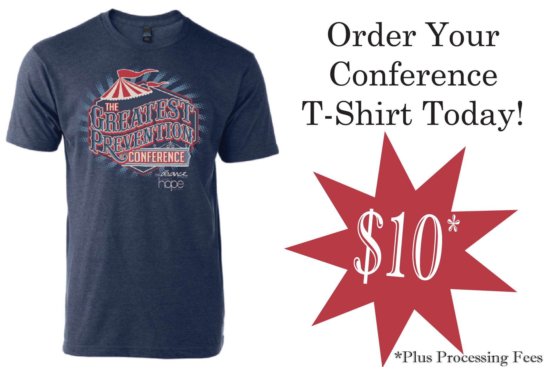 Buy your shirt today