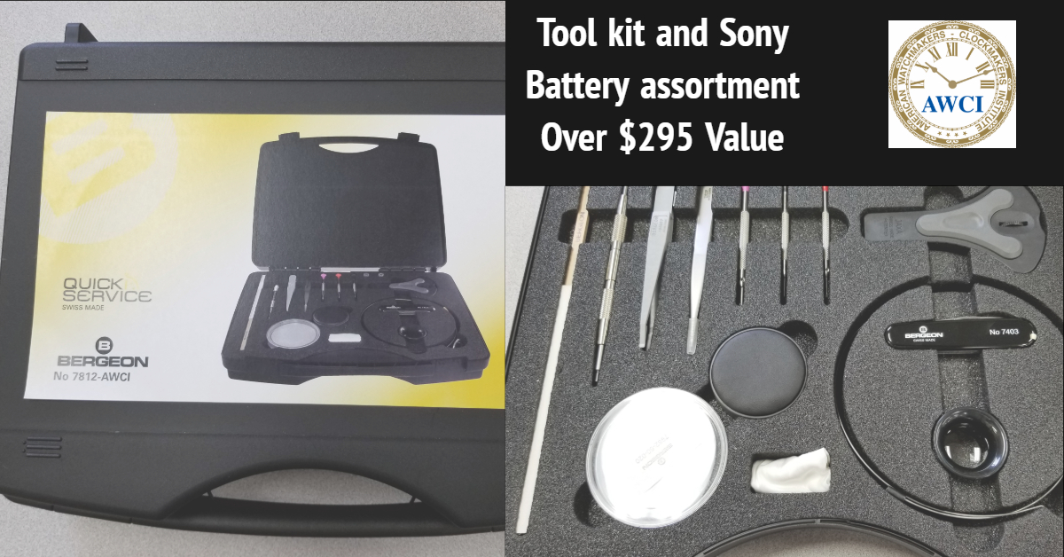 Free took kit and Sony batteries