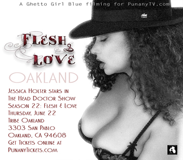 Jessica Holter The Punany Poets in Oakland California