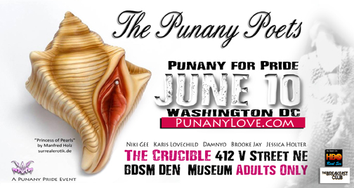 The Punany Poets in Washington DC for Pride