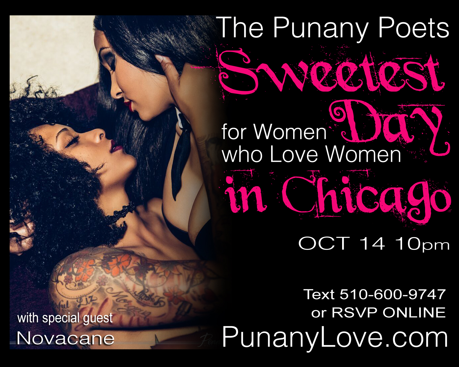 The Punany Poets Sweetest Day for Lesbians 2016