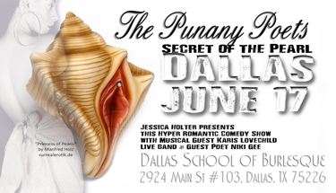 The Punany Poets in Dallas Texas with Jessica Holter Writer