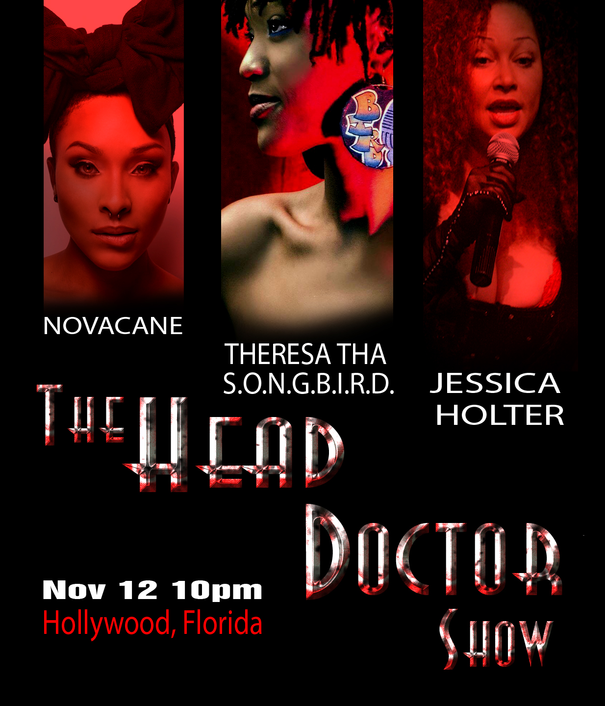 The Punany Poets The Head Doctor Show in Florida