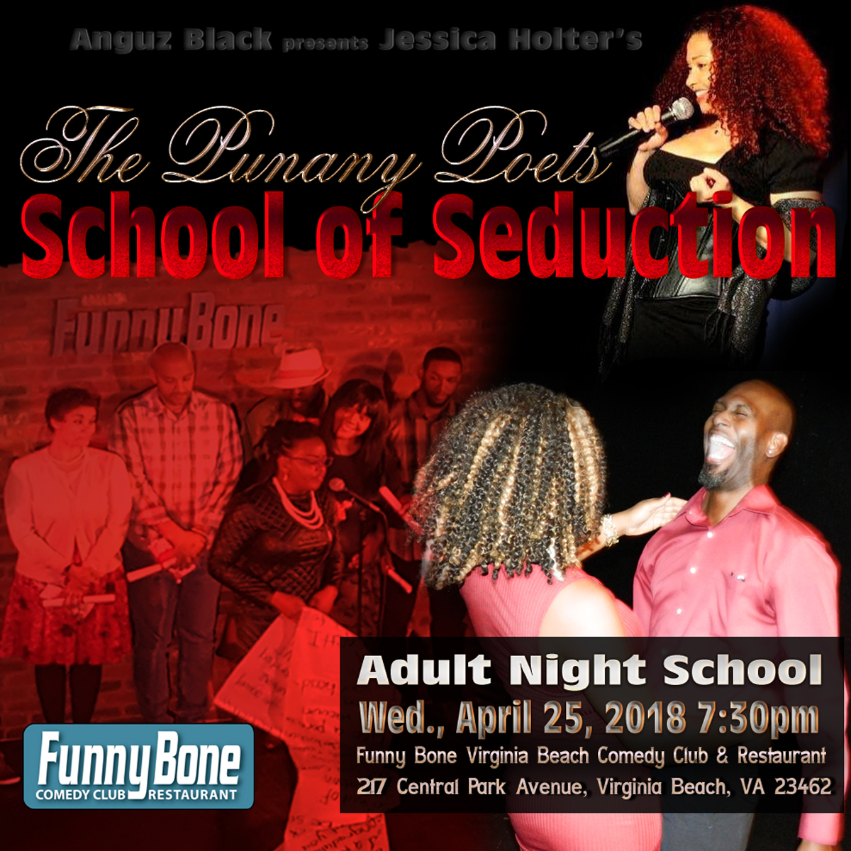 The Punany Poets School Of Seduction Jessica Holter Virginia Beach