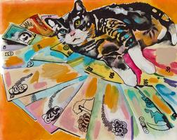 CASHCATS.BIZ ART EXHIBIT + PARTIE
