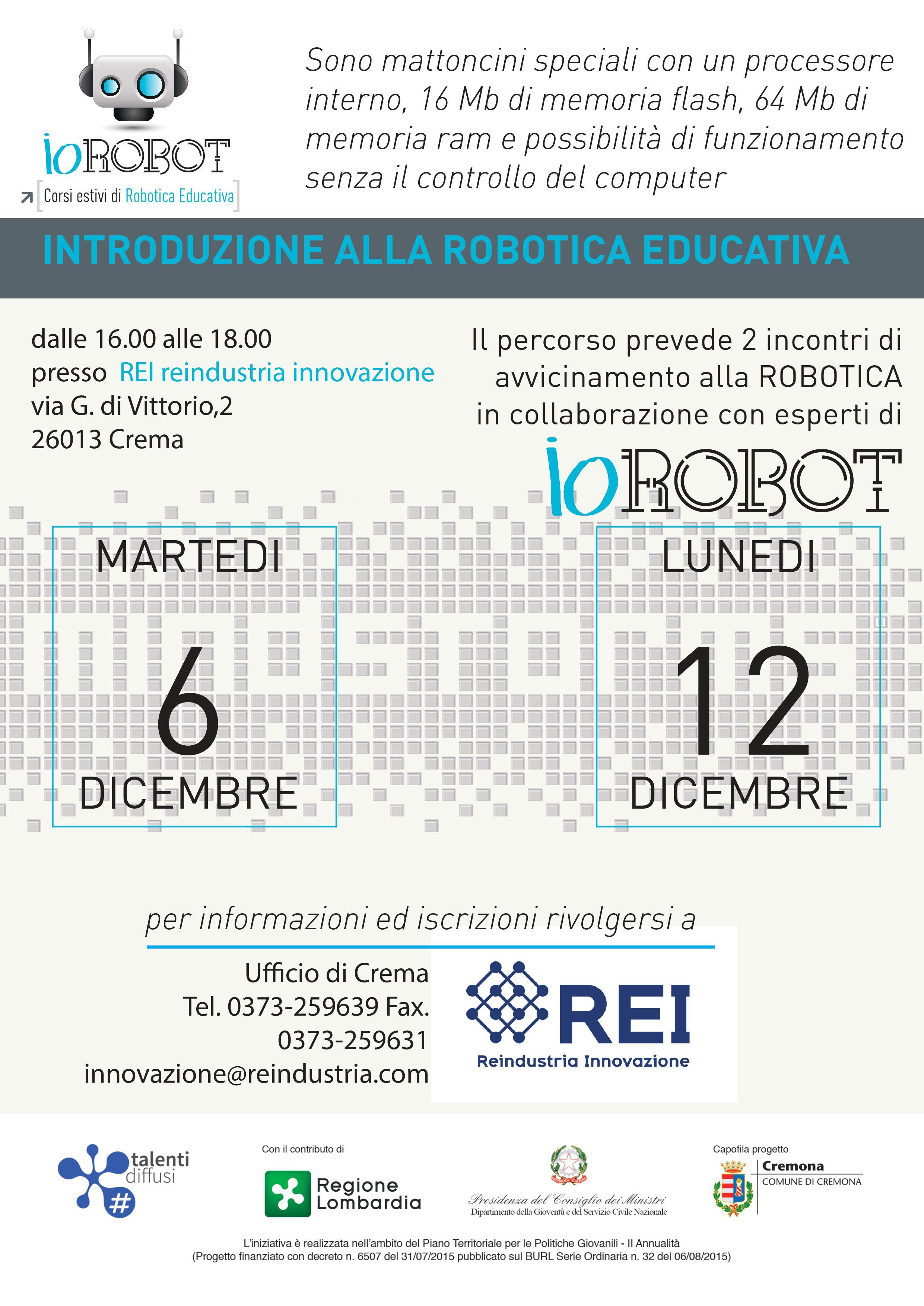 Locandina IoRobot