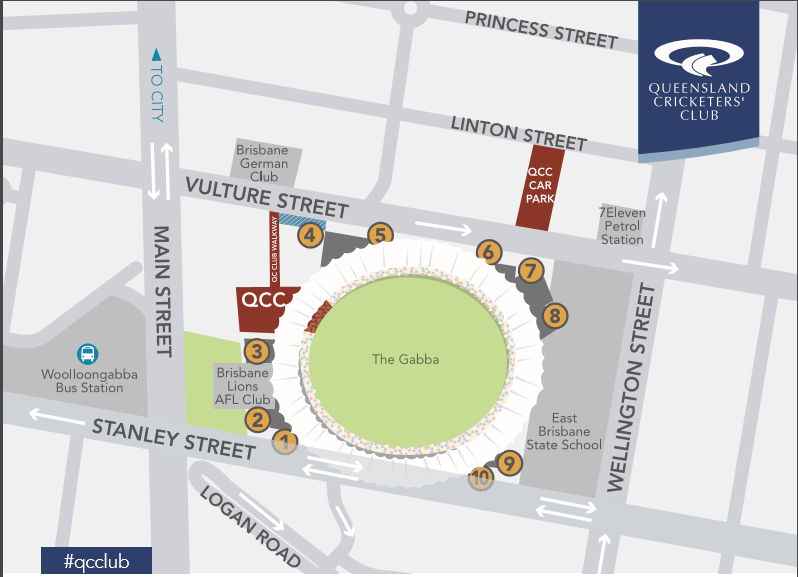 QCC Car Parking Location Map