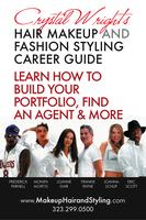 Hair Makeup and Styling Career Guide Sticker
