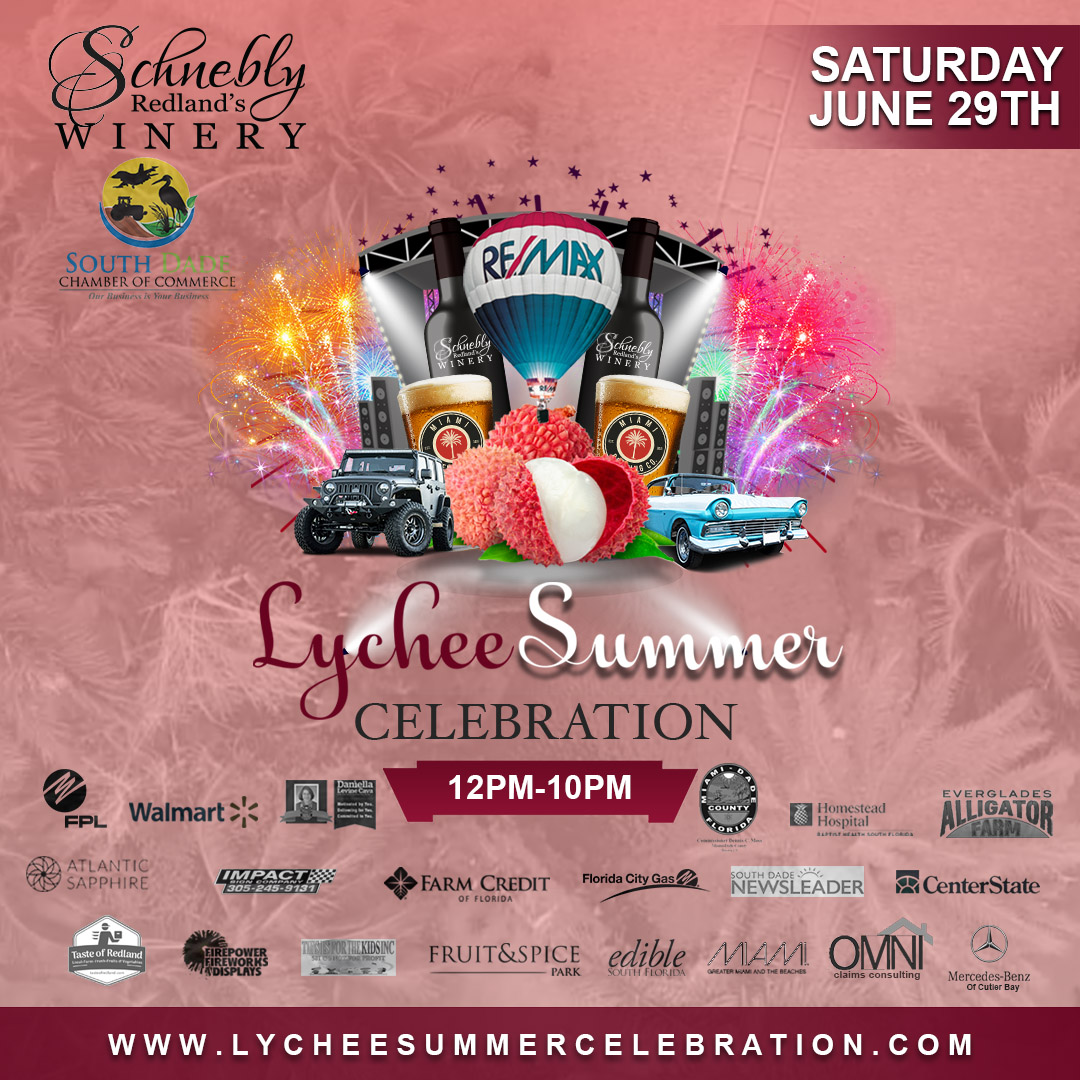 Lychee Summer Celebration 2019 Flyer
