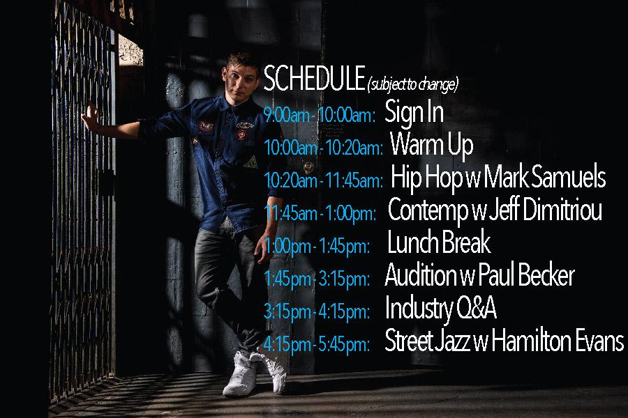 Edmonton Schedule