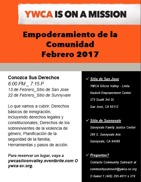 Know Your Rights (Feb 2017) - Spanish