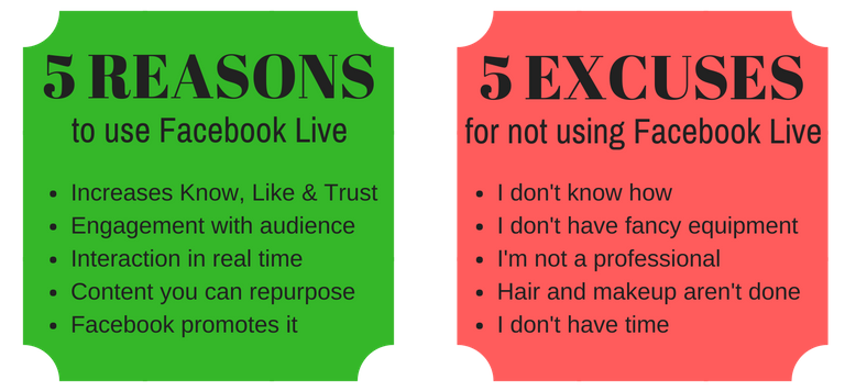 5 Reasons and Excuses