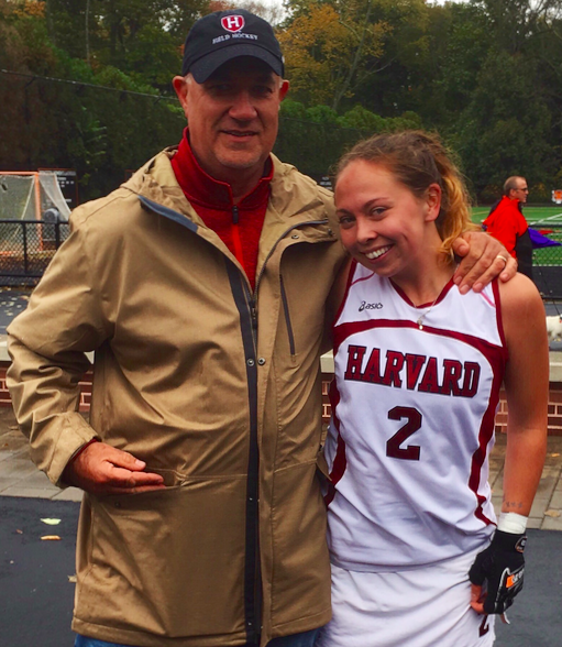 Maddie with her Dad