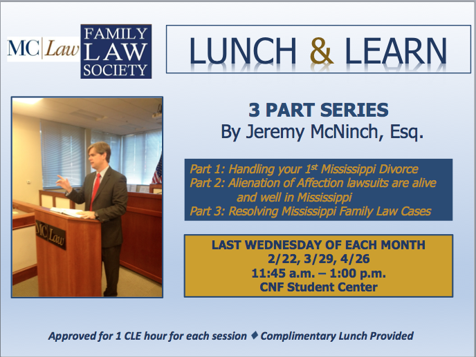 Family Law Lunch and Learn
