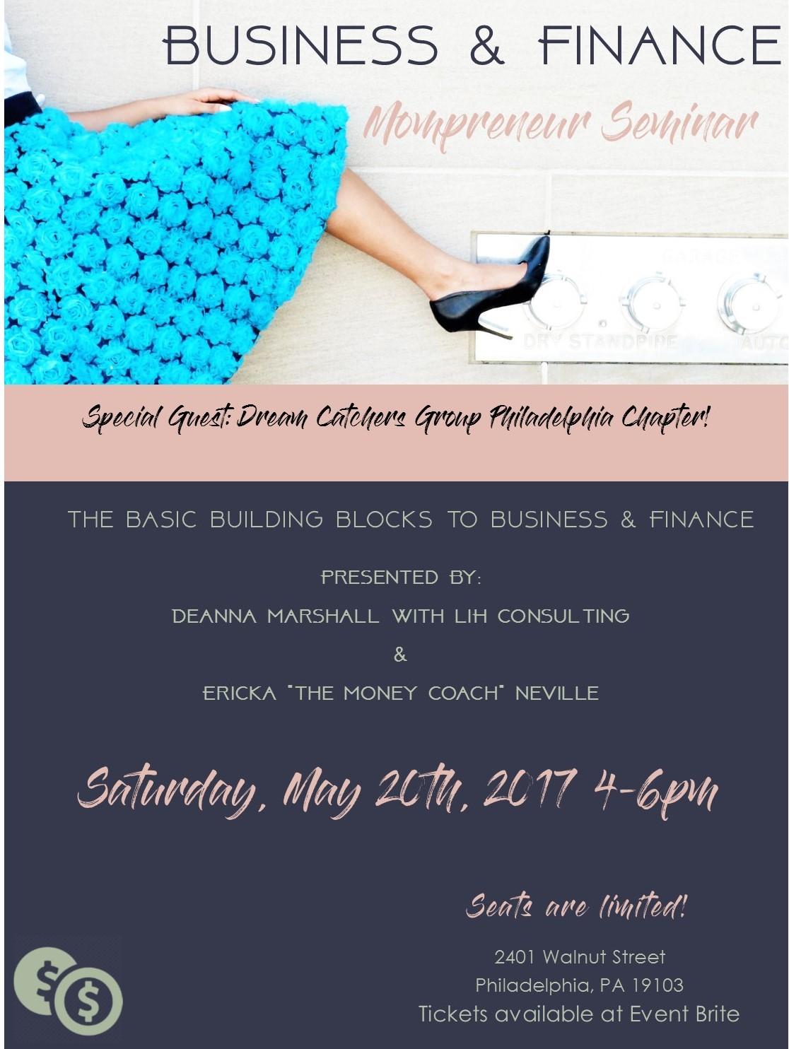 Business & Finance Mompreneur Seminar