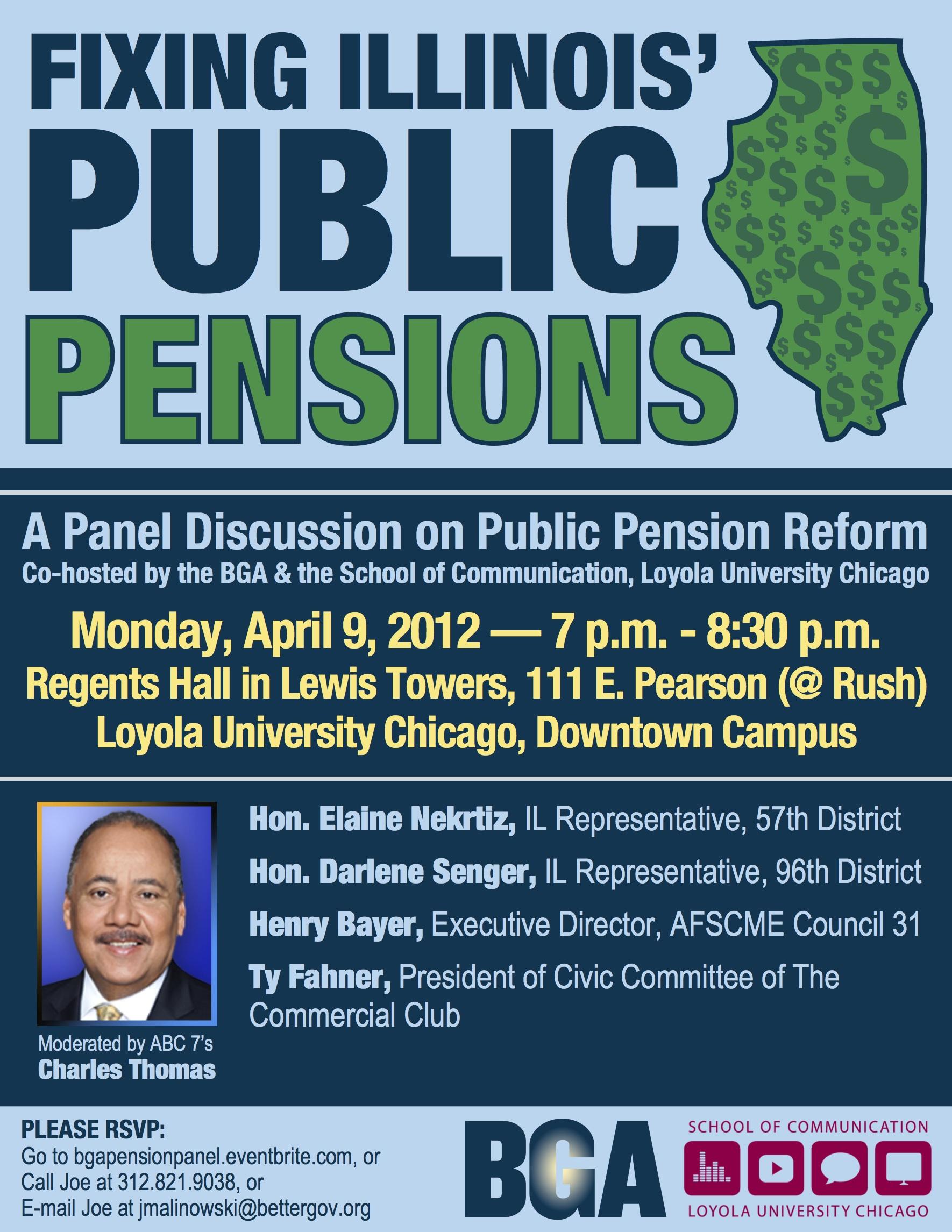 Pension Panel Flyer