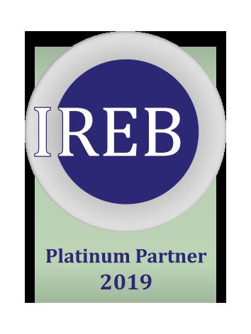 PRODYNA IREB CPRE Platinum Partner