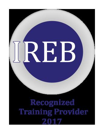 Logo IREB CPRE Recognized Tranining Provider