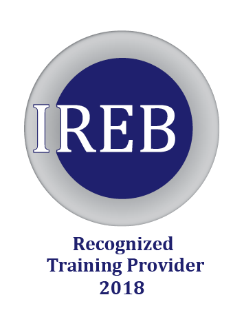 Logo IREB CPRE Recognized Tranining Provider