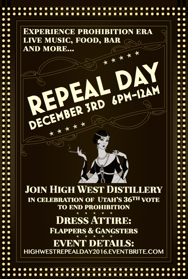 Repeal Day Invitation