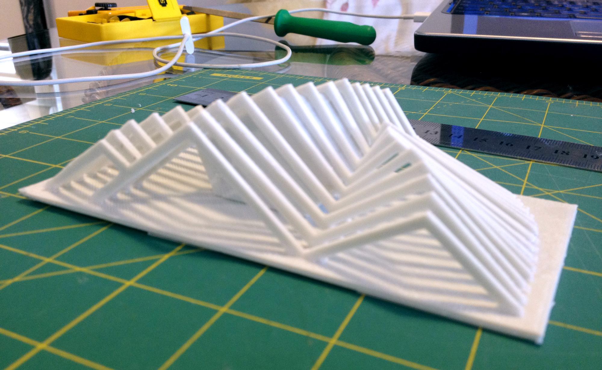 Maquete impressa em 3D