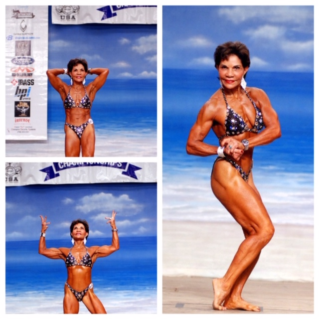 Dr. Josefina Monasterio, 72 year-old body builder, nutrition, fitness and life coach