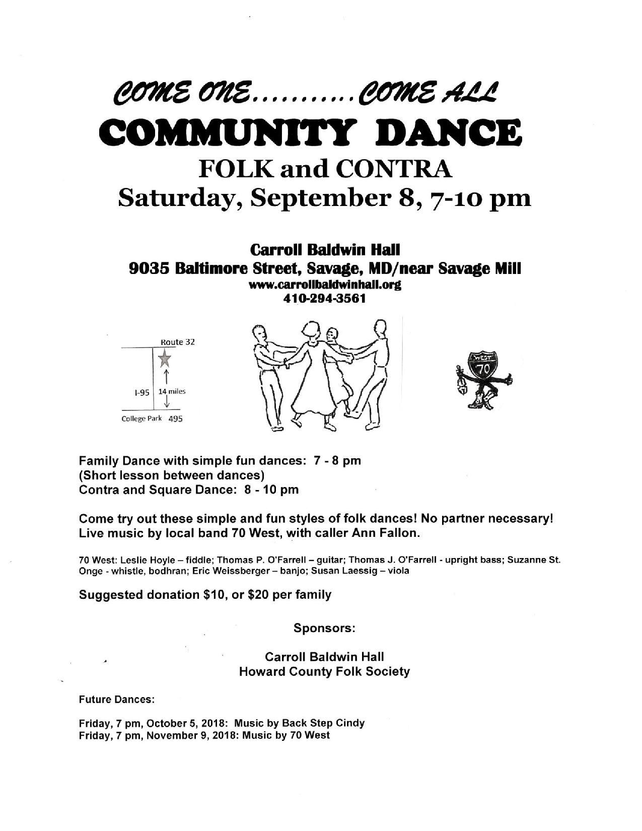 September 8 Dance Flyer