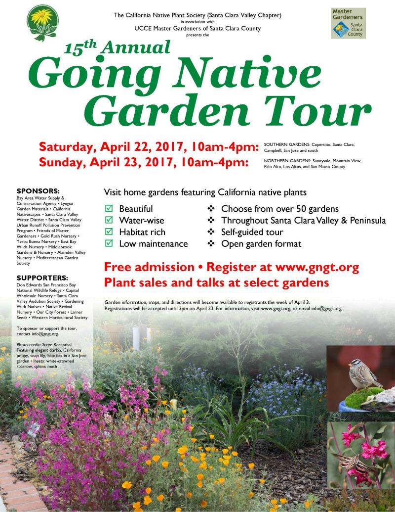 Going Native Garden Tour 2017