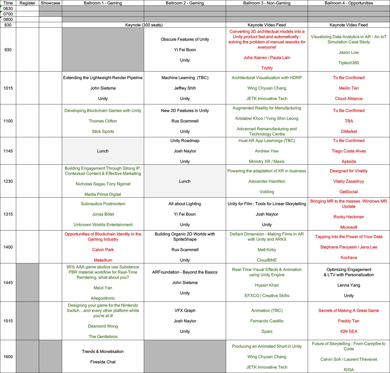 Unite SG Schedule v1